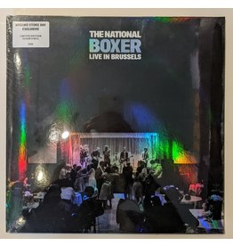 USED: The National: Boxer Live in Brussels LP