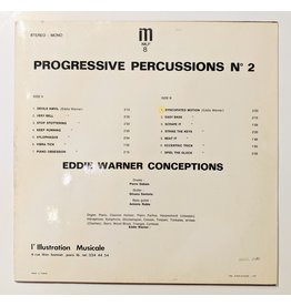 USED: Eddie Warner Conceptions: Progressive Percussions No 2 LP