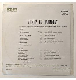 USED: Keith Mansfield / John Cameron: Voices In Harmony LP