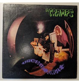 USED: Cramps: Psychedelic Jungle LP