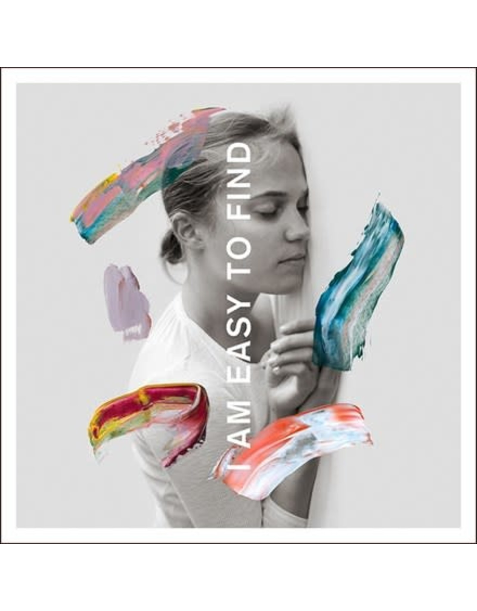 4AD National: I Am Easy to Find (CLEAR) LP