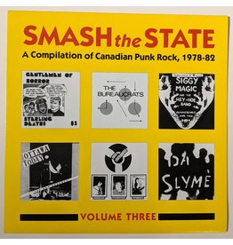 USED: Various: Smash the State Volume 3 LP