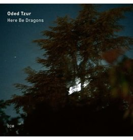 ECM Tzur, Oded: Here Be Dragons (Ntai Hershkovits/Petros Klampanis/Jonathan Blake) LP