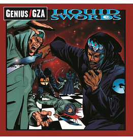 Geffen Gza: Liquid Swords LP