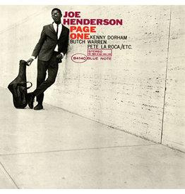 Blue Note Henderson, Joe: Page One LP