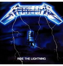 Blackened Metallica: Ride The Lightning LP