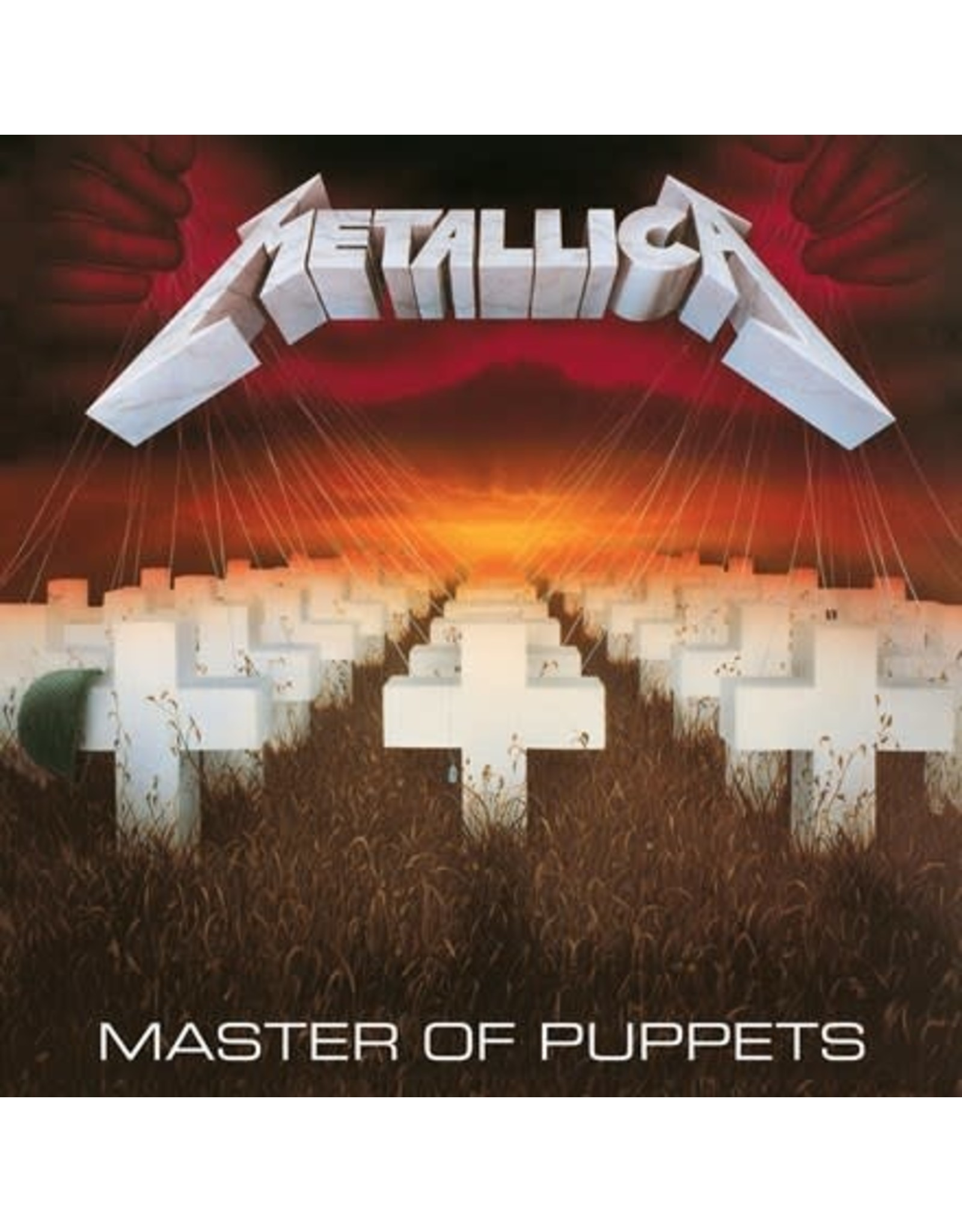 Blackened Metallica: Master of Puppets LP