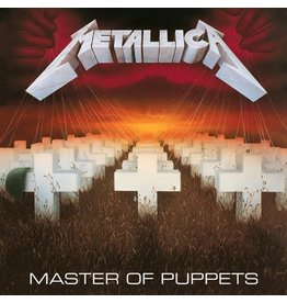 Blackened Metallica: Master of Puppets LP