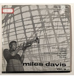 "Blue Note USED: Miles Davis: Vol 3 10"""