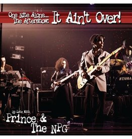 Legacy Prince & The NPG: One Night Alone.... The Aftershow: It Ain't Over! LP