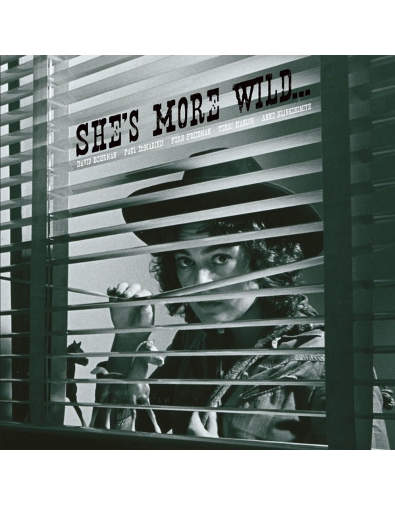 Black Truffle Behrman, David/Paul DeMarinis/Fern Friedman/Terri Hanlon/Anne Klingensmith: She's More Wild… LP