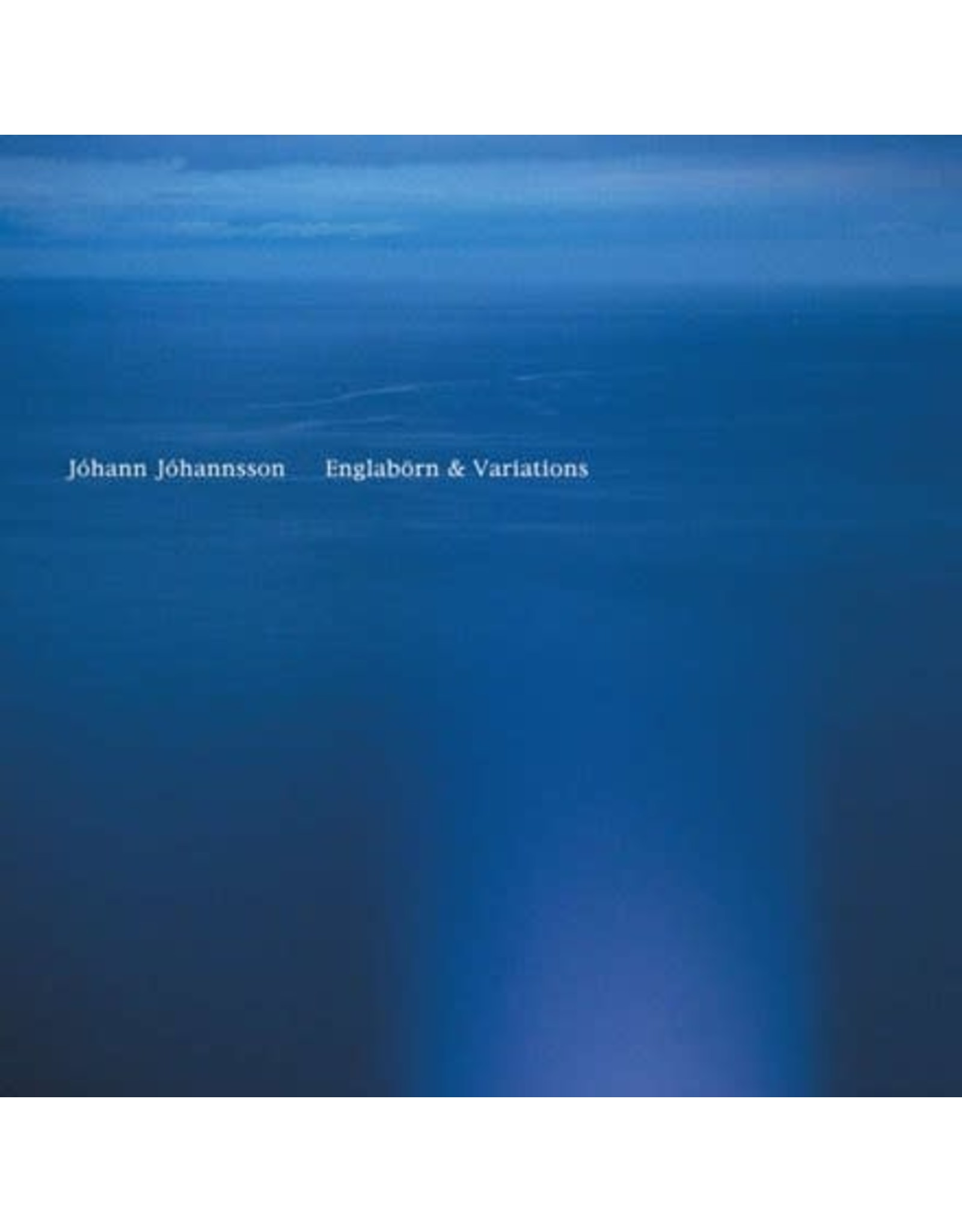 Deutsche Grammophon Johannsson, Johann: Englabörn & Variations LP