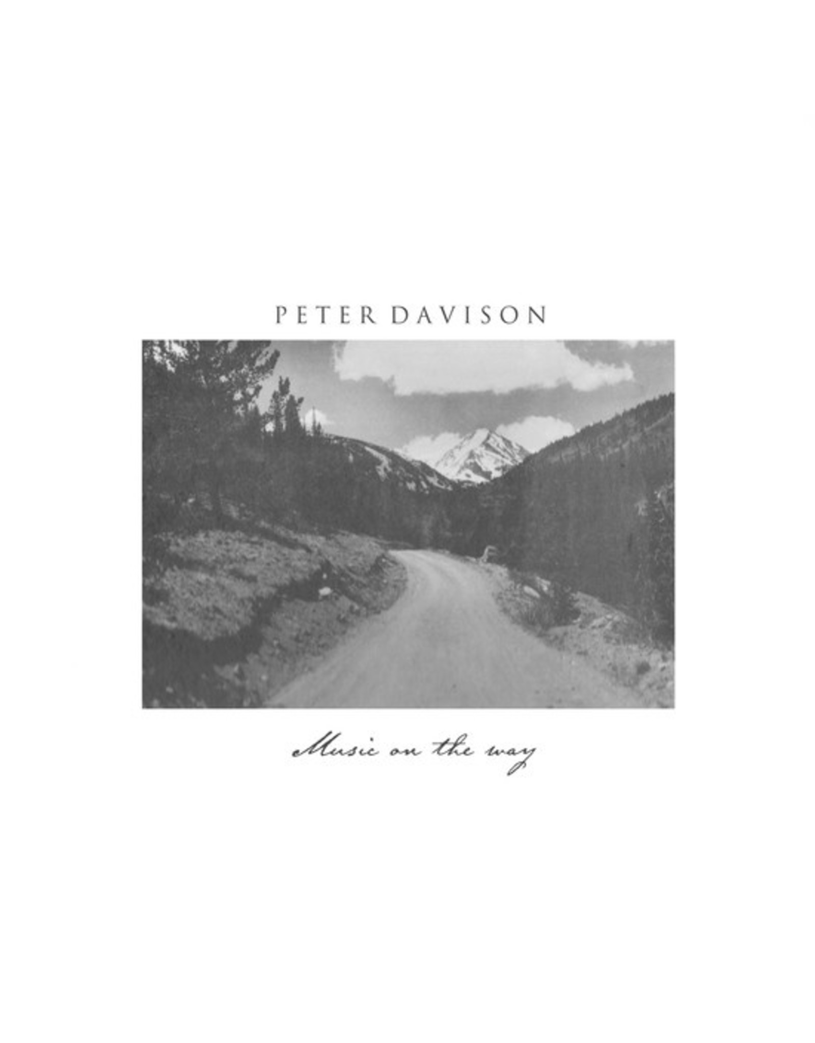 Fact of Being Davison, Peter: Music on the Way LP