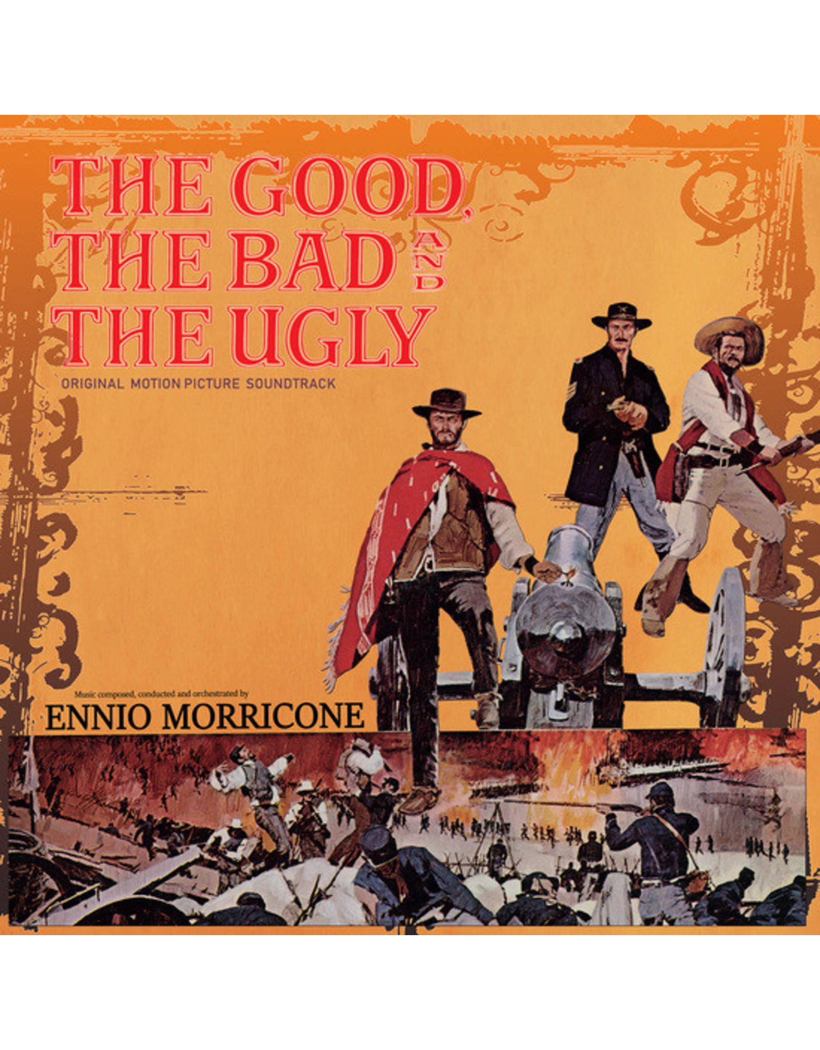 Cinevox Morricone, Ennio: The Good, The Bad, & The Ugly LP