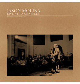Secretly Canadian Molina, Jason: Live At La Chapelle LP