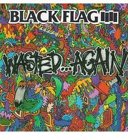 SST Black Flag: Wasted Again LP