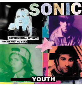 Geffen Sonic Youth: Experimental Jet Set, Trash and No Star LP