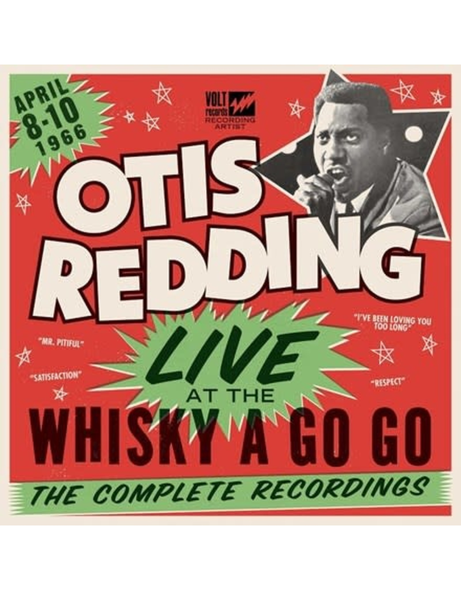 Fantasy Redding, Otis: Live At the Whiskey a Go Go LP