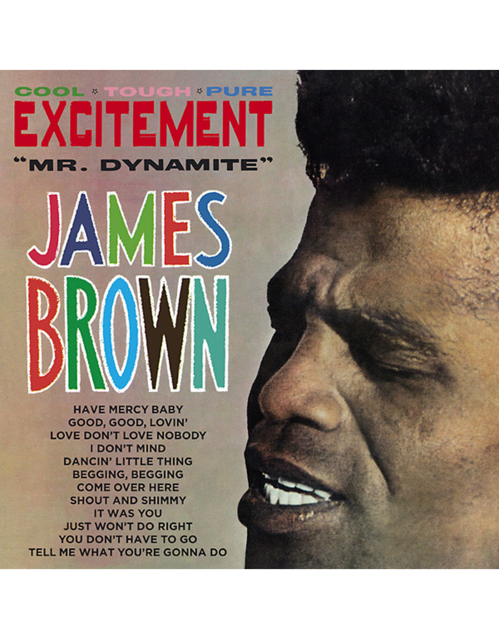 Polydor Brown, James: Excitement (Mr. Dynamite) LP