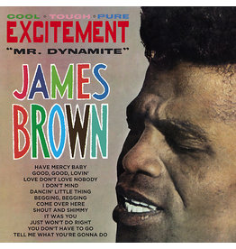 Polydor Brown, James: Excitement (Mr. Dynamite) LP