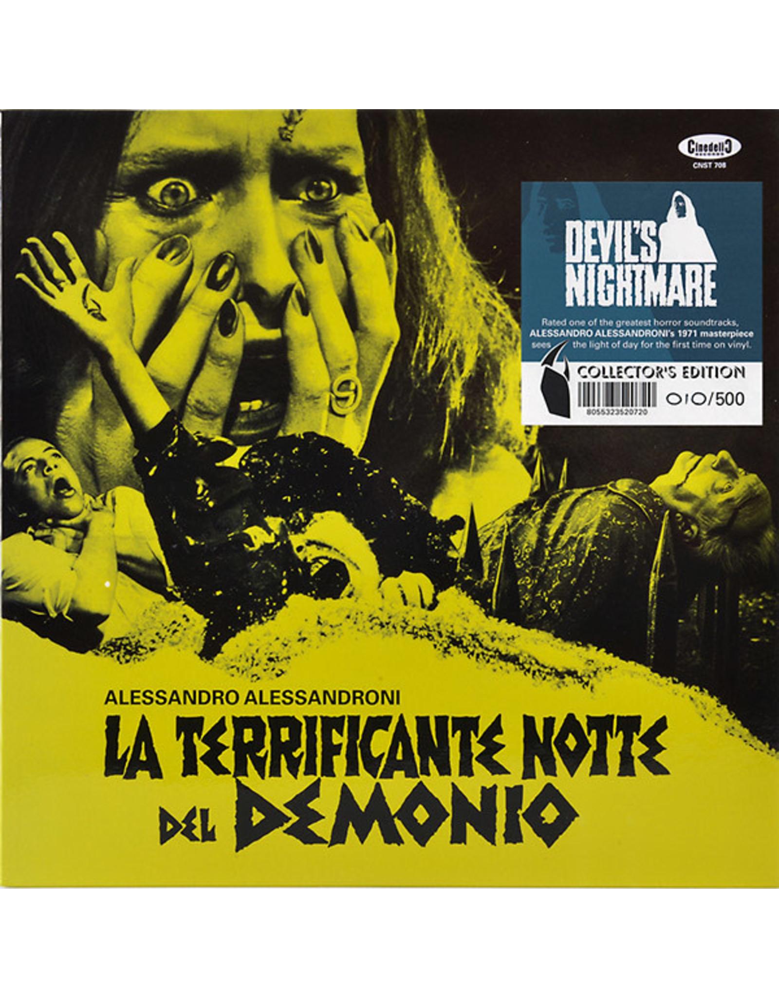 Cinedelic Alessandroni, Alessandro: La Terrificante Notte del Demonio LP LP