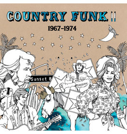 Light in the Attic Various: Country Funk II LP