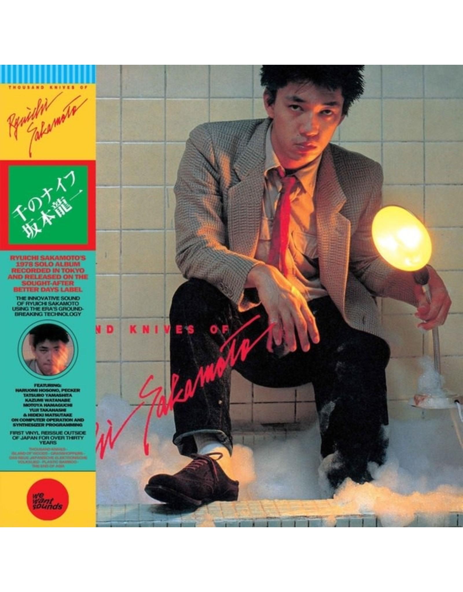 WeWantSound Sakamoto, Ryuichi: Thousand Knives Of Ryuichi Sakamoto LP