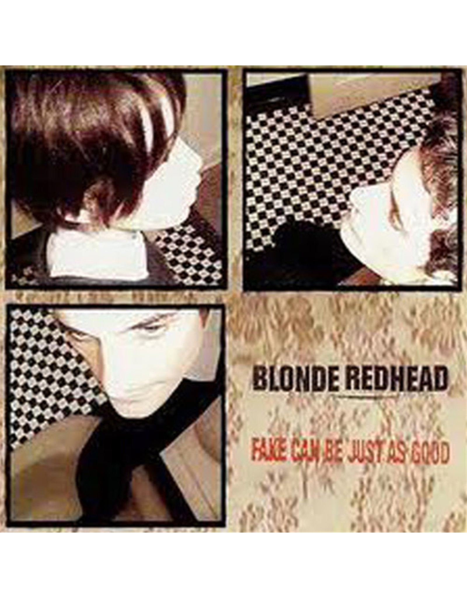 Touch & Go Blonde Redhead: Fake Can Be Just As Good LP