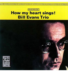 Original Jazz Classics Evans, Bill Trio: How My Heart Sings LP