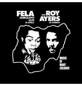 Knitting  Factory Kuti, Fela: Music of Many Colours LP