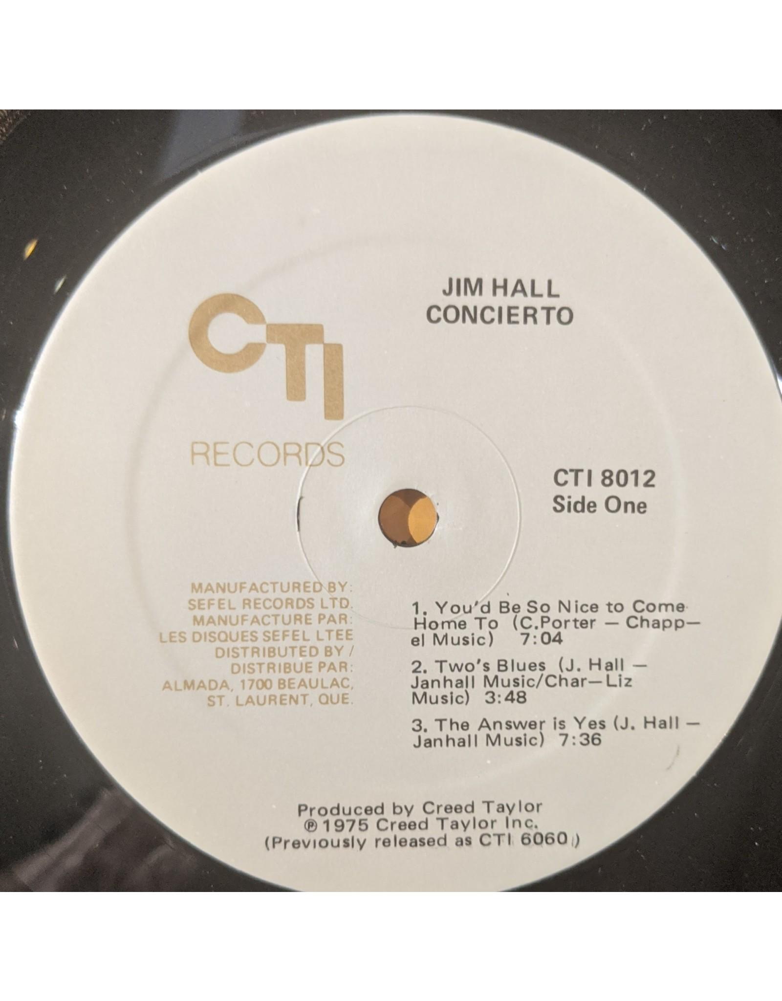 USED: Jim Hall: Concierto LP