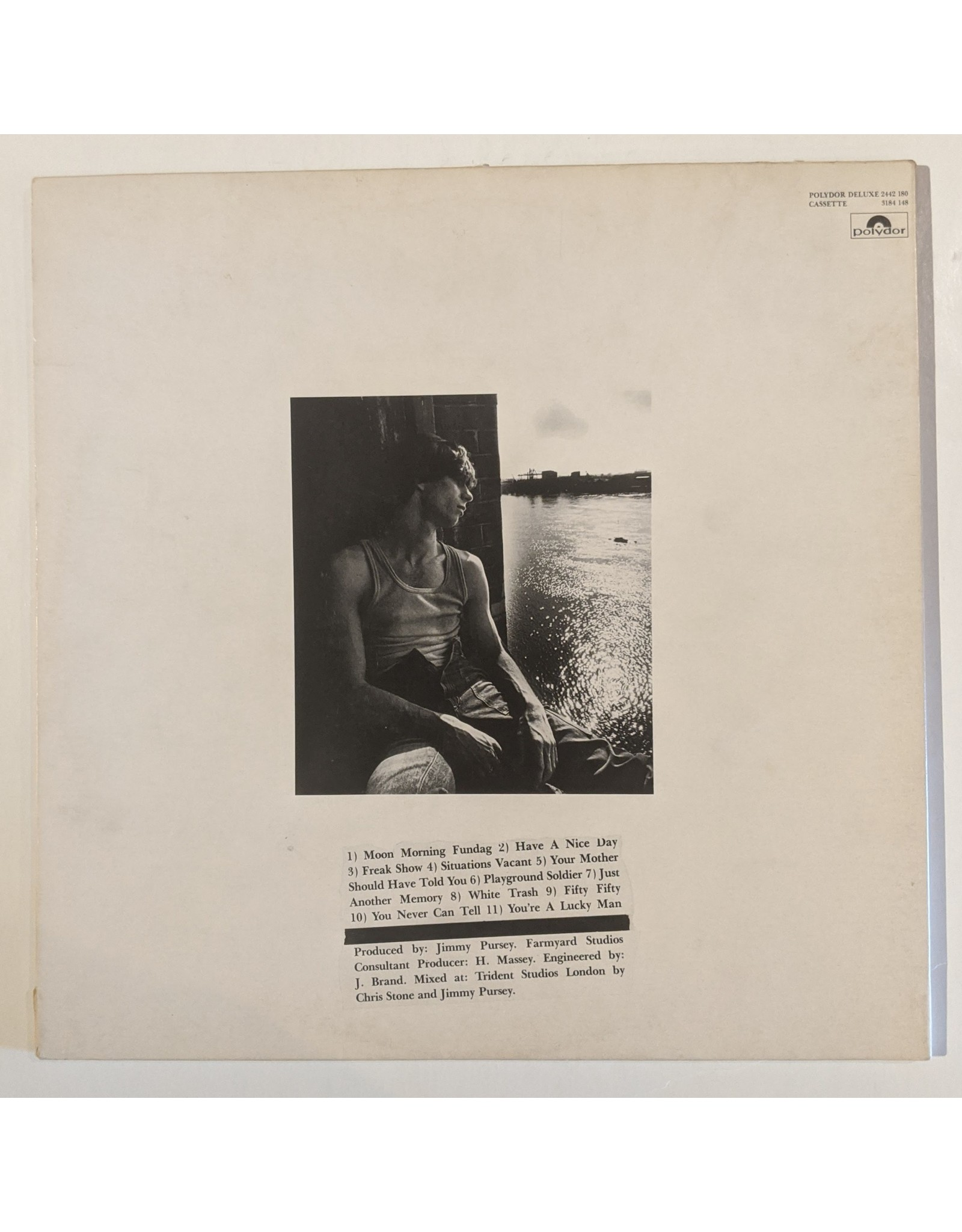 USED: Jimmy Pursey: Imagination Camouflage LP
