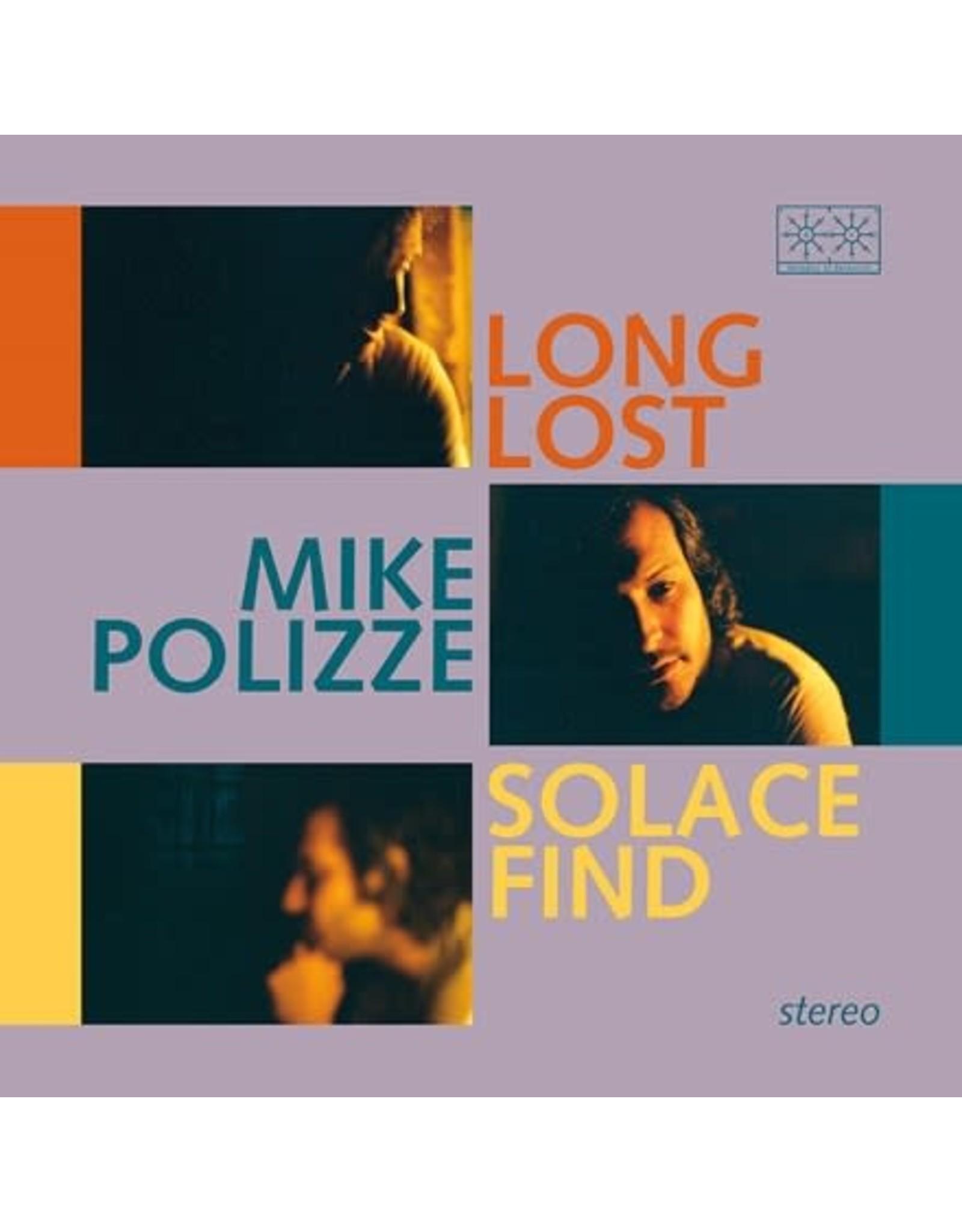 Paradise of Bachelors Polizze, Mike: Long Lost Solace Find (transparent blue vinyl) LP