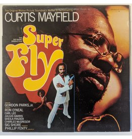 USED: Curtis Mayfield: Superfly LP