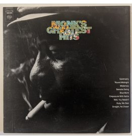 USED: Thelonious Monk: Greatest Hits LP
