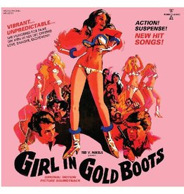 Modern Harmonic Various:  Girl In Gold Boots OST LP
