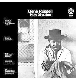 Real Gone Russell, Gene: 2020RSD - New Direction (CLEAR WITH HEAVY BLACK SWIRL VINYL) LP