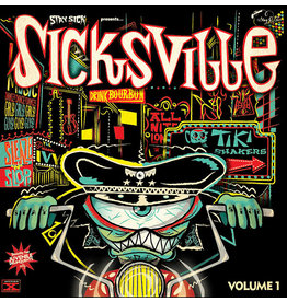 Stag O Lee Various: Sicksville Vol 1 10""