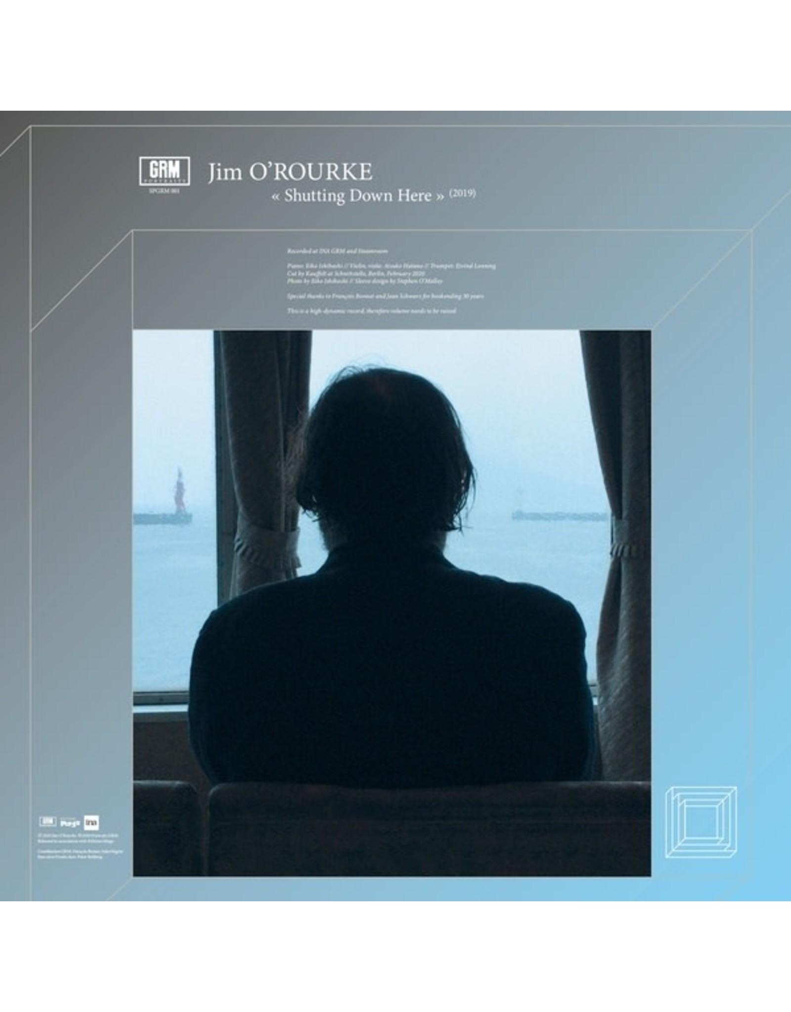 Portraits GRM O'Rourke, Jim: Shutting Down Here LP