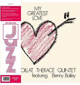 We Release Jazz Boillat Therace Quintet: My Greatest Love LP