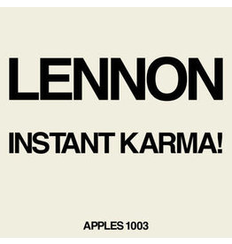 """Capitol Lennon, John: 2020RSD - Instant Karma 7"""""""