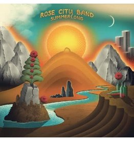 Thrill Jockey Rose City Band: Summerlong (Summer Sunset Orange vinyl) LP