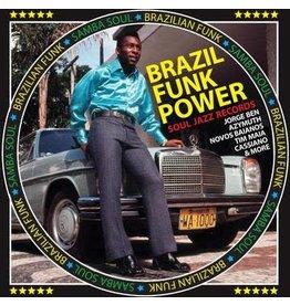 """Soul Jazz Various: 2020RSD - Brazil Funk Power: Brazilian Funk & Samba Soul 5x7"""" BOX"""