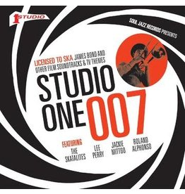 """Soul Jazz Various: 2020RSD - Studio One 007: Licensed To Ska! James Bond and other Film Soundtracks & TV Themes 5x7"""" BOX"""
