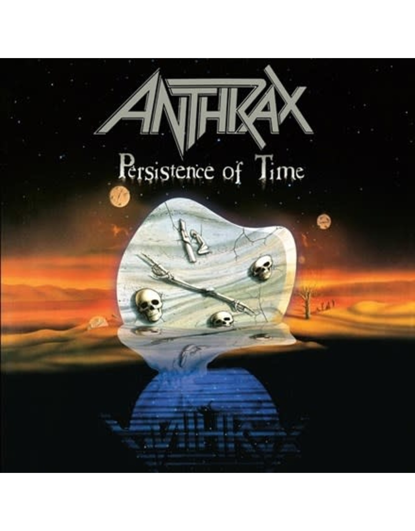 Megaforce Anthrax: Persistence of Time LP
