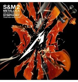 Blackened Metallica & San Francisco Symphony: S & M 2 (orange vinyl) 4LP