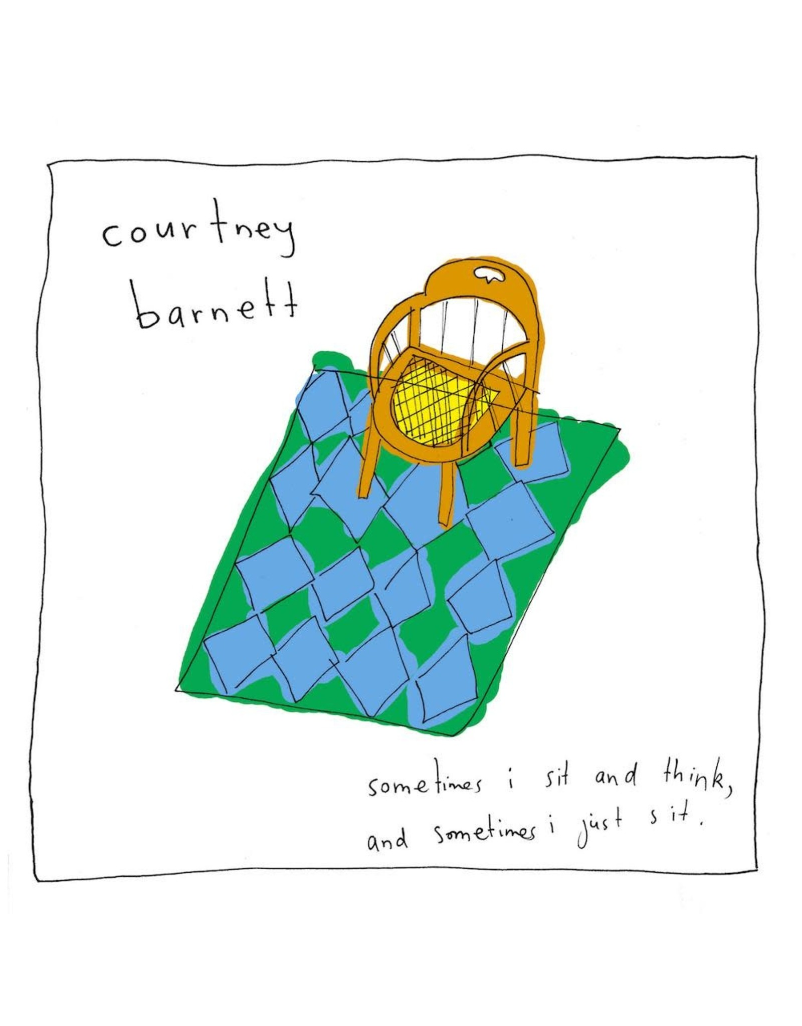 Mom + Pop Barnett, Courtney: Sometimes I Sit and Think LP