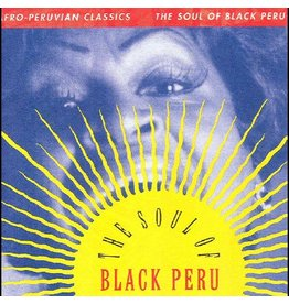Luaka Bop Various: Afro-Peruvian Classics: The Soul of Black Peru LP