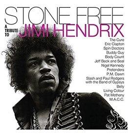 Reprise Various: Stone Free - Jimi Hendrix Tribute (Clear & black vinyl)  LP