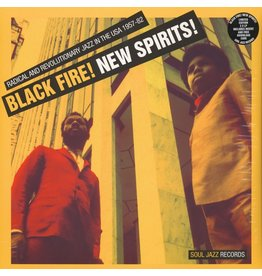 Soul Jazz Various: Black Fire! New Spirits - Radical and Revolutionary Jazz In The USA 1957 - 1982 LP